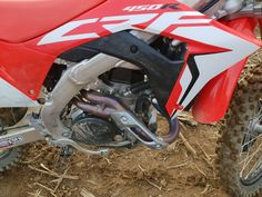 Exhausts getting some nice colors :) Motocross Shop, Honda, Racing, Motorcycle, Nice, Colors, Vehicles, Shopping, Running