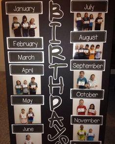 New Birthday Board Preschool Classroom Displays Ideas Classroom Organisation, Classroom Design, Classroom Displays, School Organization, Classroom Display Boards, Reading Bulletin Boards, Classroom Libraries, Classroom Bulletin Boards, Beginning Of School