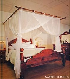 Mosquito Net Bed Canopy. COTTON (CBX)