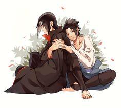 Brothers are Birds of a Feather //Itachi and Sasuke Boruto, Sasori And Deidara, Sasuke And Itachi, Madara Uchiha, Naruto Shippuden Anime, Anime Naruto, Hinata, Sasunaru, Narusasu