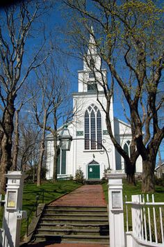 church nantucket | First Congregational Church Nantucket - Climb the Church Tower for ...
