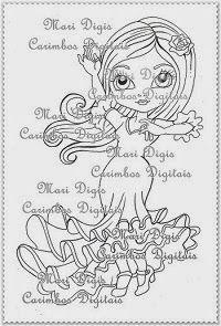 Mari Digis Store: A60-Especial Dançarina Flamenca