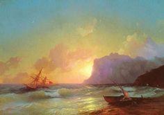 Ivan Aivazovsky, (title unknown)