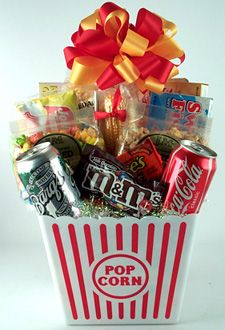 72 best movie night gift baskets images on pinterest gift ideas