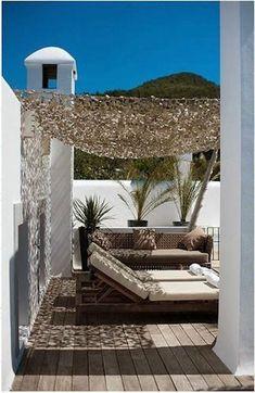 Pergola For Small Backyard Outdoor Office, Outdoor Rooms, Outdoor Gardens, Outdoor Living, Outdoor Decor, Outdoor Lounge, Patio Roof, Pergola Patio, Pergola Plans