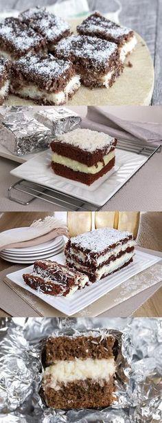 Bolo gelado de prestígio Em uma tigela grande, misture as gemas, a manteiga derretida, o açúcar refinado, o açúcar mascavo e o leite. #receita#bolo#torta#doce#sobremesa#aniversario#pudim#mousse#pave#Cheesecake#chocolate#confeitaria Holiday Cookies, Nutella, Sweet Recipes, Mousse, Biscuits, Cheesecake, Deserts, Dessert Recipes, Food And Drink