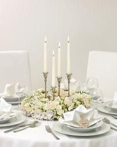Edel und elegant - Die schönsten Ideen für Ihre Tischdekoration. Lassen Sie sich inspirieren!