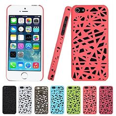 Birds Nest Slim Hard Case for iPhone 5/5S (Assorted Colors) – USD $ 2.99