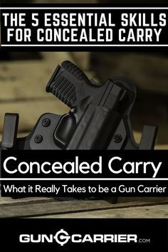guns ammo What exactly comes into your mind when talking about concealed carry? Click this link and learn about the skills you need to develop other than your skill with the gun. Survival Prepping, Emergency Preparedness, Survival Skills, Survival Stuff, Survival Gear, Gun Concealment Furniture, Shooting Guns, Shooting Bench, Ammo Storage