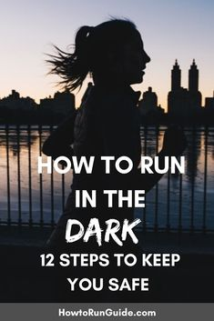 Running in the dark is different than daytime running, but do you know ALL of these 12 important tips? Find out how to run in the dark safely! Track Quotes, Running Quotes, Running Motivation, Workout Quotes, Fitness Motivation, Wellness Fitness, Fitness Tips, Health Fitness, Training Plan