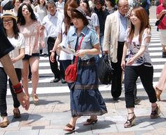 Harajuku Japanese Streets Fashion Trends Summer 2012