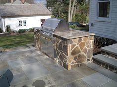barbecue grill surround rock and granite - - Yahoo Image Search Results