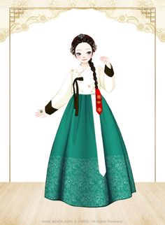 Hanbok Art Korean Fashion Summer, Korean Fashion Casual, Korean Outfits, Korean Traditional Dress, Traditional Dresses, Korean Art, Asian Art, Korean Style, Anime Korea