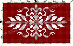 Funny Cross Stitch Patterns, Cross Stitch Borders, Cross Stitch Designs, Bead Crochet Rope, Thread Crochet, Crochet Chart, Filet Crochet, Loom Beading, Beading Patterns