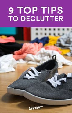9 Super Simple Ways to Declutter Your Space (and Life) for Good #clutter #cleaning http://greatist.com/live/declutter-tips-professional-organizers