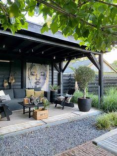 Home - STUDIO ZINNIG Interieurontwerp Back Garden Design, Garden Design Plans, Patio Design, Scandinavian Garden, Patio Shade, Small Backyard Patio, Interior Garden, Outdoor Living, Outdoor Decor