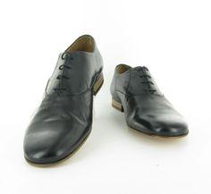 Chaussures PETER BLADE Richelieu DEAVE noir : chez vous pour 129 € !  http://www.peterblade.com/chaussure/homme/deave_noir/de_ville/noir/cuir_souple/deauville/195