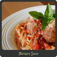 Recipe—Marinara Sauce
