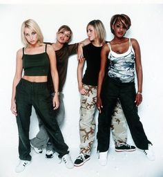 """I'm listening to """"Love Lasts Forever"""" & """"Black Coffee. All Saints Group, All Saints Band, 90s Girl Fashion, Star Fashion, Retro Fashion, Shaznay Lewis, Famous Musicals, Popular Girl, Spice Girls"""