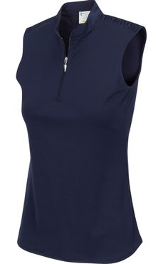 Greg Norman Ladies & Plus Size ML75 2Below Sleeveless Golf Shirts - ESSENTIALS (Assorted Colors)