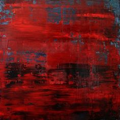 "Koen Lybaert; Oil 2014 Painting ""abstract N° 963"""