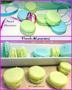 French Macaroons, delicately delicious. ~ The Complete Savorist