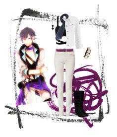 """""""Tokiya Ichinose Casual Cosplay (1000, Concert)"""" by psychometorzi ❤ liked on Polyvore featuring Armani Jeans, Giordano Frangipani, DESTIN, Valentino, maurices, The 2 Bandits, Therapy, women's clothing, women and female"""