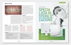 """Campaña realizada para W&H Italia """"Specialista in Sterilizazione"""" #diseñográfico #valencia #graphicdesign"""