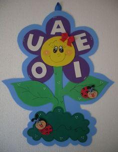 Painel Funcional ♥ Florzinha de Vogais