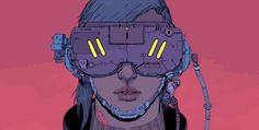 The bleak and charming cyberpunk art of Josan Gonzalez | The Verge