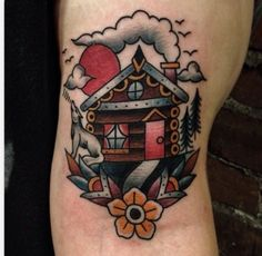 irresistible house old school tattoo