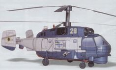 Kamov Ka-27 Military Helicopter Free Aircraft Paper Model Download - http://www.papercraftsquare.com/kamov-ka-27-military-helicopter-free-aircraft-paper-model-download.html#143, #AircraftPaperModel, #Helicopter, #Helix, #Ka27, #Kamov, #KamovKa27