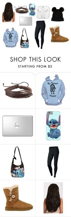 """Casual"" by olivia-huffer on Polyvore featuring Zodaca, Hanes, Disney, NIKE and UGG"
