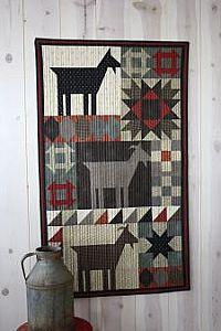 Goat Sampler pattern and KIT