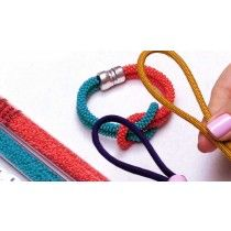 How to Make a Single Square Knot For Beaded Kumihimo