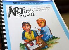 Artistic Pursuits #homeschool #curriculum