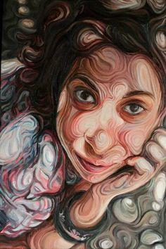 """Saatchi Art Artist Nikos Gyftakis; Painting, """"Helena"""" #art"""