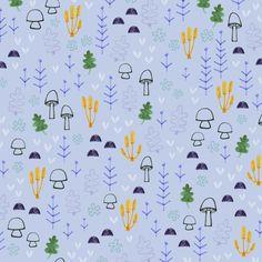 Mini mushroom pattern - children illustration and pattern design by Laurence Lavallée aka Flo Laurence, Pattern Art, Illustration, My Arts, Mini, Artist, Design, Artists