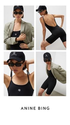Introducing ANINE BING Sport, a new category of active essentials made to mix and match with your current wardrobe. Model Headshots, Zendaya Coleman, Anine Bing, Fashion Pictures, Editorial Photography, Editorial Fashion, Dora Maar, Summer Sport, Style Inspiration