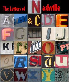 Nashville letters