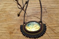 Hey, I found this really awesome Etsy listing at https://www.etsy.com/listing/513119207/labradorite-necklacemacrame