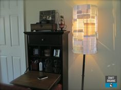 "Paper Lamp Shade (with positive messages) read to see ""messages"" :)"