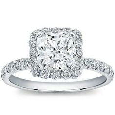 Look what I found at Adiamor! My DREAM ring. But with a 3 carat diamond instead of a 1 ;) #wishfulthinking