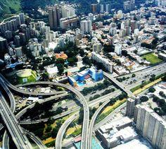 Vista aerea de El Paraiso...Caracas