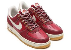 Air Force 1 Workboot in Team Red by NIke