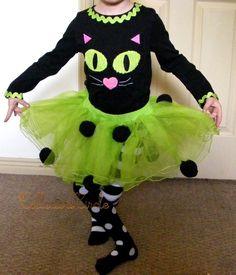 Mud Pie 5T CAT TUTU Halloween Girls Outfit Costume Set Dress Up Pretend Fun Play #MudPie #HalloweenEverydayHoliday