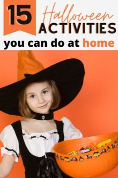 Halloween plans changed this year? Don't worry, you can do these Halloween activities at home for a spooky good time!