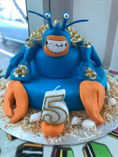 Moana Maui Themed Cake By Alaskan Walk Disney Cakes
