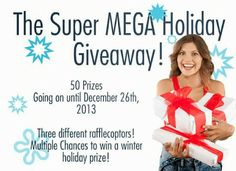Lacquer: The Best Medicine!: SUPER MEGA HOLIDAY GIVEAWAY!
