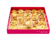 Simply delicious.  Order from our website http://www.nadege-patisserie.com/product-category/catering/